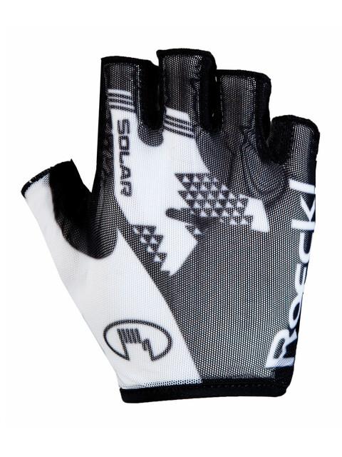 Roeckl Izeda Handschuhe schwarz/weiß